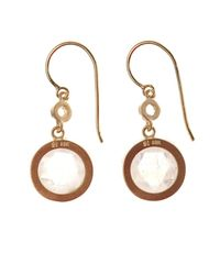 Irene Neuwirth - Metallic Diamond, Pink-Opal & Gold Earrings - Lyst