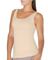 Yummie By Heather Thomson | Natural Mercer Hidden Panel Shaping Tank | Lyst