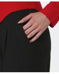Oska | Black Linea Wool Trousers | Lyst