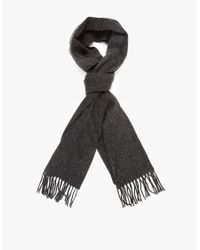 Norse Projects | Gray Sigurd Scarf for Men | Lyst