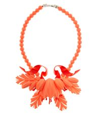 EK Thongprasert | Orange Stone Embellished Necklace | Lyst