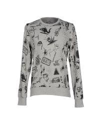 Originals By Jack & Jones - Gray Sweatshirt for Men - Lyst
