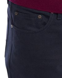 Jaeger | Blue Moleskin Five Pocket Trousers for Men | Lyst