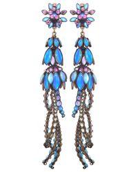 Miranda Konstantinidou Chez Carré Y. | Blue Alien Anemone Clip Earrings | Lyst