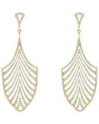 Ileana Makri - Metallic Women's Deco Escape Drop Earrings - Lyst