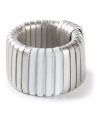 MM6 by Maison Martin Margiela - Metallic Ring - Lyst