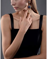 Vickisarge - Metallic Earrings - Lyst