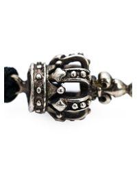 Roman Paul - Black Beaded Bracelet for Men - Lyst