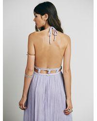 Free People - Gray Jen's Pirate Booty Womens La Cruz Maxi Dress - Lyst