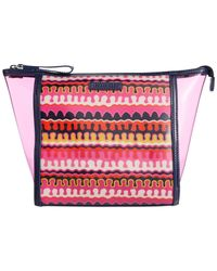 Vera Bradley - Multicolor Clearly Colorful Large Cosmetics Case - Lyst