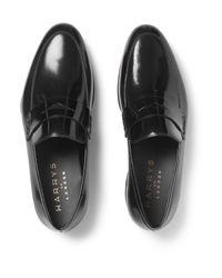 Harry's Of London - Black Downing 2 Polished-leather Loafers for Men - Lyst