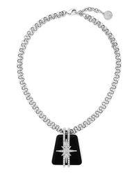 Vince Camuto | Metallic 'drama' Pendant Necklace | Lyst