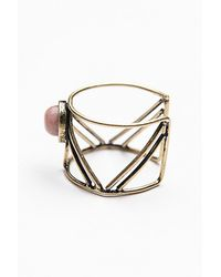 Free People | Pink Caged Cuff Ring | Lyst