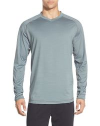 Rhone | Gray Sentinel Long-Sleeved Training T-shirt for Men | Lyst