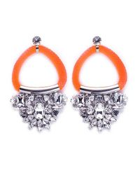 Noir Jewelry | Orange Chindarkar Drop Earrings | Lyst