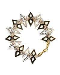 Noir Jewelry | Metallic Tortola Bracelet | Lyst