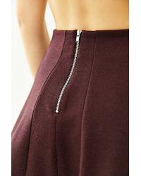 Kimchi Blue - Purple Flirt With Me Seamed Skirt - Lyst