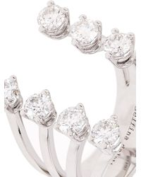 Delfina Delettrez | White-Diamond & White-Gold Ring | Lyst