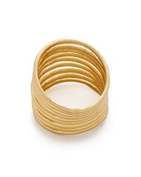 Madewell - Metallic Wirestack Ring - Gold - Lyst