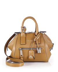 Marc Jacobs | Brown Incognito Mini Smooth Leather Top-handle Bag | Lyst
