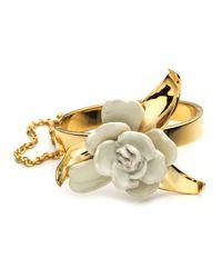 Aerin | Metallic Gardenia Bracelet Cuff | Lyst