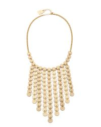 Adia Kibur | Metallic Julia Necklace - Gold | Lyst