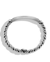 David Yurman - Metallic Exotic Stone Narrow Id Bracelet With Black Onyx for Men - Lyst