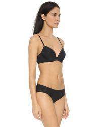 Calvin Klein | Seductive Comfort Lift Bra - Black | Lyst