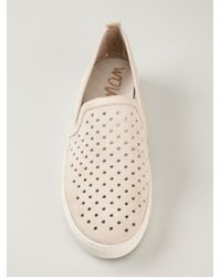 Sam Edelman - Natural 'bea' Slip-on Sneakers - Lyst
