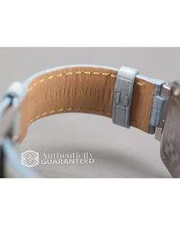Louis Vuitton - Preowned Light Blue Alligator Womens Watch - Lyst