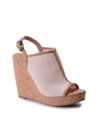 Splendid | Pink Dominique Wedge Sandals | Lyst