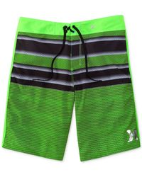 Hurley - Green Phantom Wasteland Boardshorts for Men - Lyst