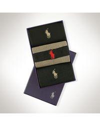Polo Ralph Lauren - Black Rugby Sock Multi-pack for Men - Lyst