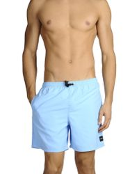 Hurley | Blue Swimming Trunk for Men | Lyst