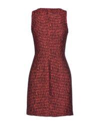 Matthew Williamson - Red Short Dress - Lyst