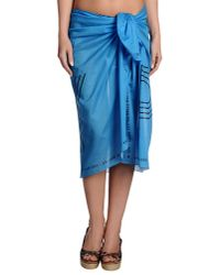 Golden Goose Deluxe Brand - Blue Sarong - Lyst