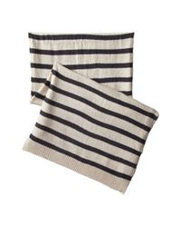 Hat Attack | Natural Stripe Scarf | Lyst