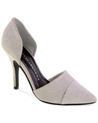 Chinese Laundry - Gray Sidekick D'Orsay Pumps - Lyst