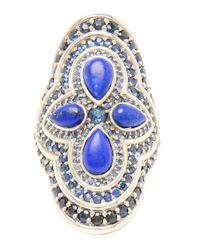 Fernando Jorge | Blue White Gold Lapis and Sapphire Ocean Ring | Lyst