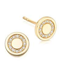 Astley Clarke | Metallic Mini Cosmos Stud Earrings | Lyst