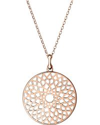 Links of London - Metallic Timeless 18ct Rose-gold Vermeil Necklace - Lyst