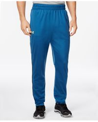 Under Armour - Blue Men's Tapered Tricot Joggers for Men - Lyst