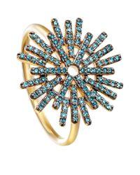 Astley Clarke - Blue Firework Ring - Lyst