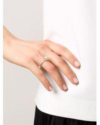 Rosa Maria - Metallic Zanbak Ring - Lyst