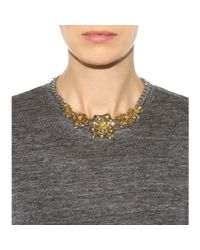 Marc By Marc Jacobs | Metallic Jerrie Rose Necklace | Lyst