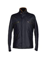 Hogan - Blue Jacket for Men - Lyst