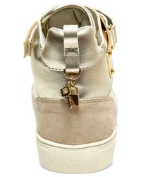 Madden Girl - Metallic Adorree High Top Sneakers for Men - Lyst