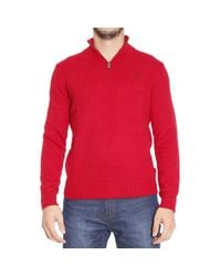Polo Ralph Lauren - Red Sweater for Men - Lyst