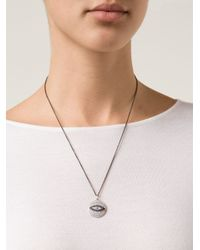 Ileana Makri | White 'dawn' Pendant Necklace | Lyst