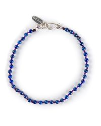 Paul Smith | Blue Lapis Beaded Bracelet for Men | Lyst